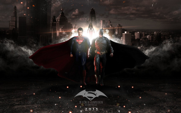 Wallpaper Batman Superman 2015
