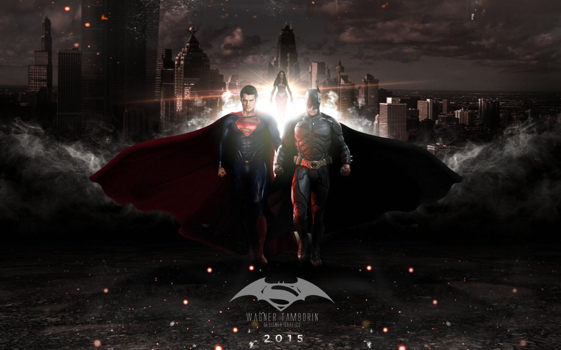 Wallpaper Batman Superman 2015