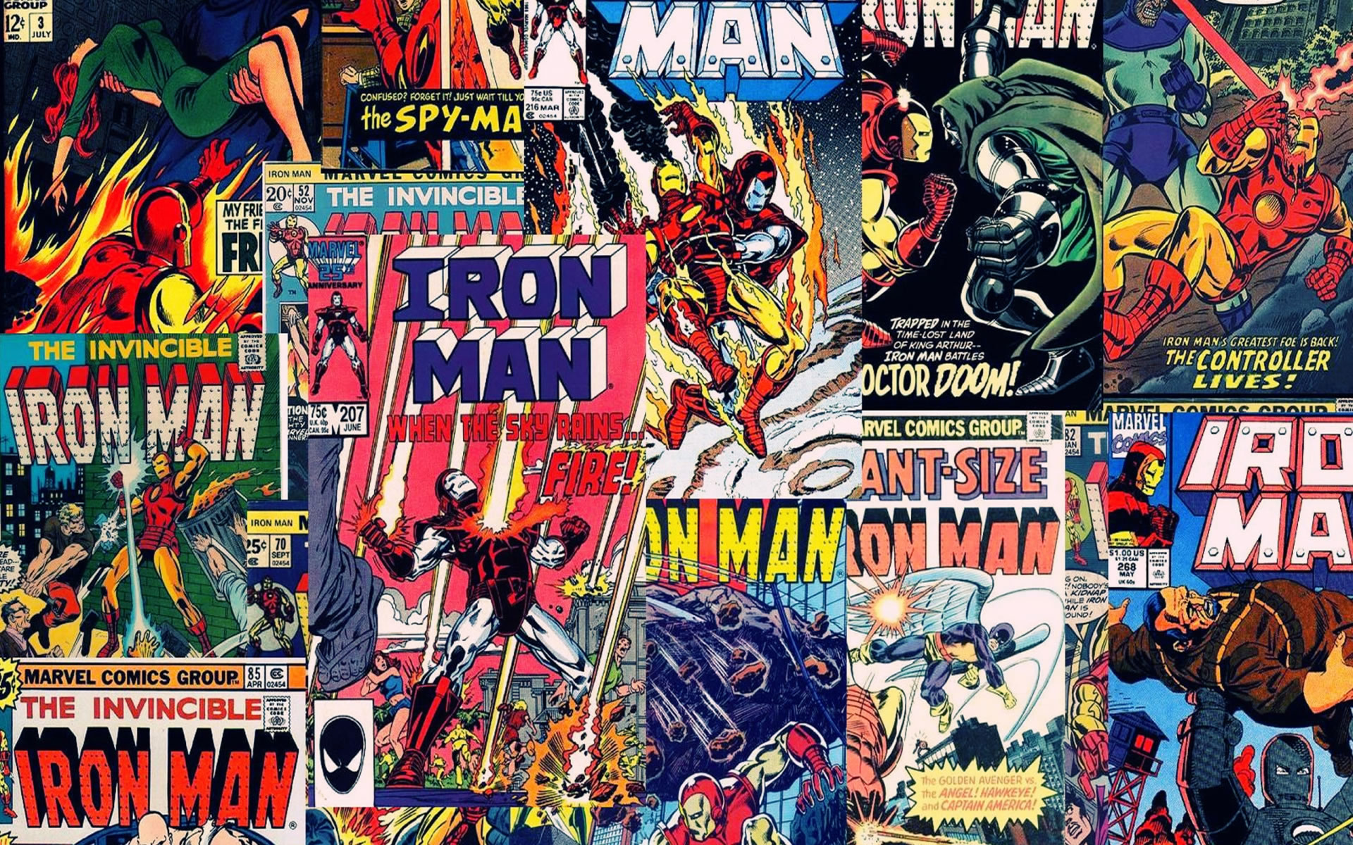 Wallpaper con Cómics Iron man