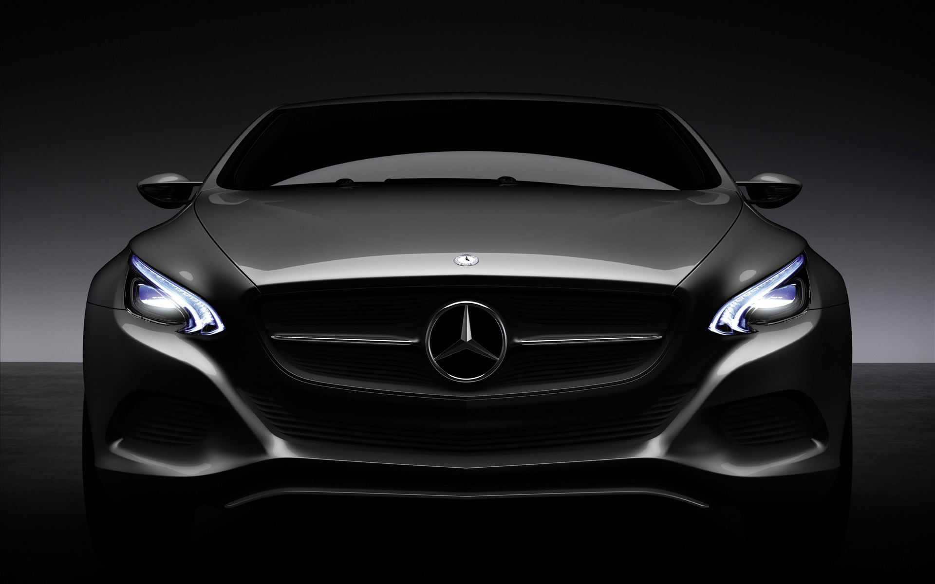Wallpaper Mercedes Benz F800