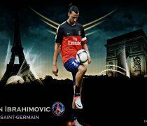 Zlatan Ibrahimovic en París