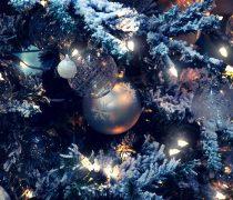 Adornos Navidad Plateados 2014.