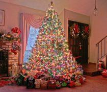 Árbol de Navidad Super Decorado.