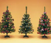 Árboles de Navidad Decorados.
