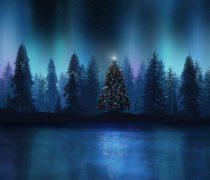 Aurora Boreal en Navidad.