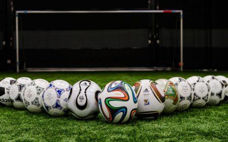 Balones de los Mundiales de Fútbol.