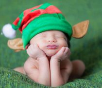 Bebé Duende de Santa Claus