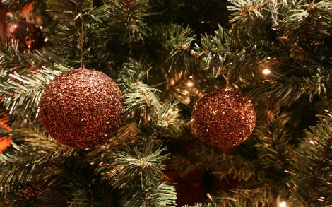 Bolas de Navidad Fondo 2014.