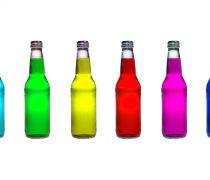 Botellas de varios Colores