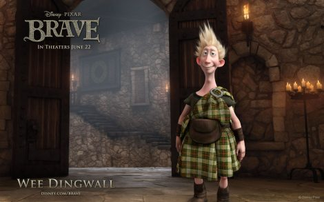 Brave Wallpaper Wee Dingwall