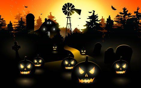 Calabazas Asesinas en Halloween