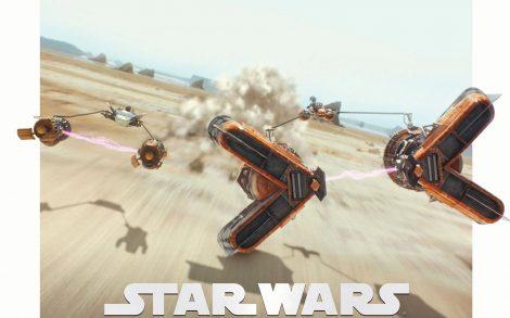 Carrera de Vainas. Star Wars Episodio 1