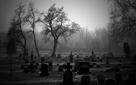 Cementerio el Día de todos los Santos