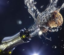 Champagne para fin de ano Wallpaper.