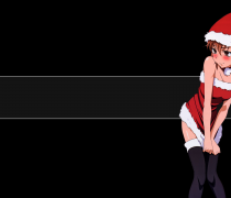 Chica Anime Navidad Wallpaper