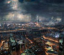 Ciudades del Futuro Wallpapers de Ficción.