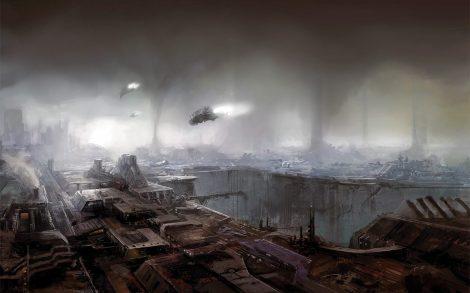 Ciudades desoladas en el Futuro
