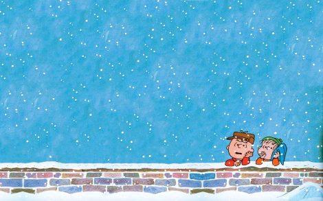 Cómic de Navidad Charlie Brown.