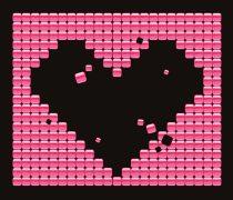 Corazón Día de los Enamorados.