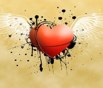 Corazón Espinado Wallpaper