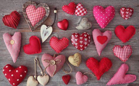 Corazones para Día San Valentín.