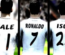 Cracks Real Madrid Bale, Isco y Ronaldo