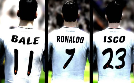 Cracks Real Madrid Bale, Isco y Ronaldo