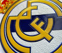 Escudo Real Madrid Bordado