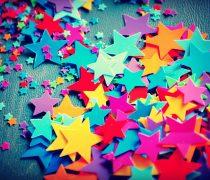 Estrellas de Colores Fondos coloridos