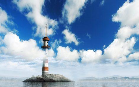 Faro entre las Nubes