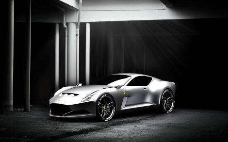 Ferrari Plateado Wallpapers Motor
