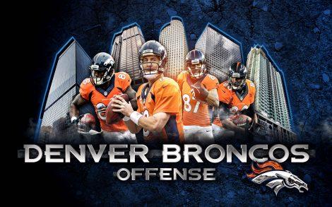 Fondo Denver Broncos Super Bowl.