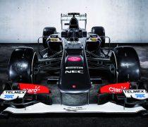 Fondo Fórmula 1. Monoplaza Sauber 2013