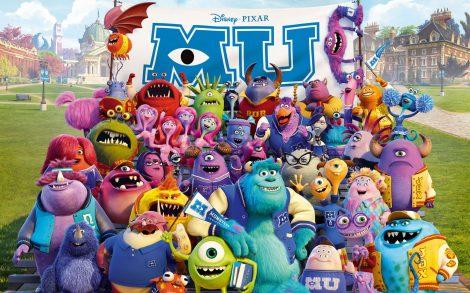 Fondo Monsters University.
