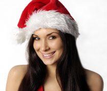 Fondo Navidad con Chica