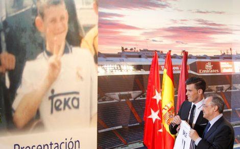 Fondo Presentación Gareth Bale