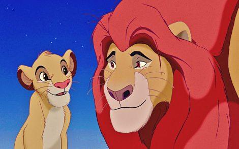 Simba y Mufasa.