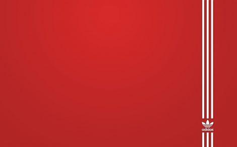 Fondo de Adidas en Rojo