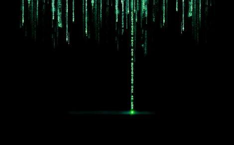 Fondo de Letras de Matrix