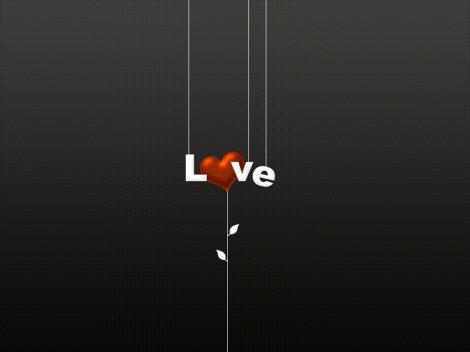 Fondo Minimalista de Amor
