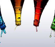 Fondos de Colores. Botellas