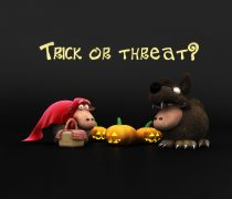 Wallpaper Truco o Trato Halloween