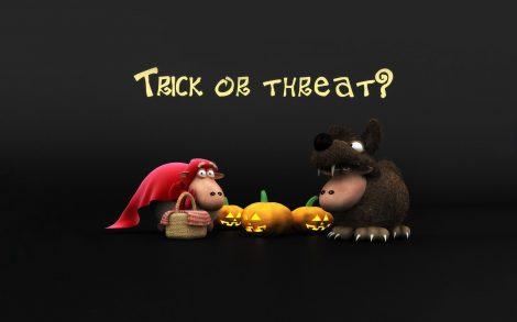 Wallpaper Truco o Trato Halloween