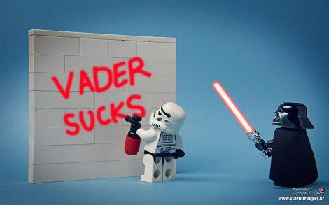 Fondos Divertidos Vader Sucks.