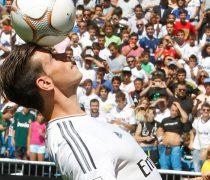 Gareth Bale Malabarismos en el Bernabeu