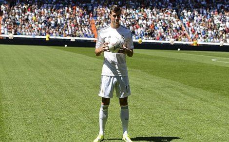 Gareth Bale Presentación Real Madrid Bernabeu