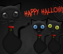 Gatitos Happy Halloween