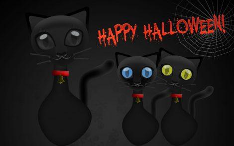 Gatitos Happy Halloween