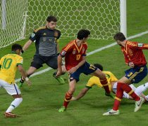 Gol Brasil vs España. Copa Confederaciones 2013.
