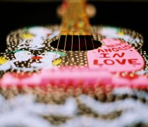 Guitarra Decorada.